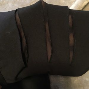 Natalie Dancewear Tops - BNWT Spandex Leotard w Low back & Arm Slit Cutouts